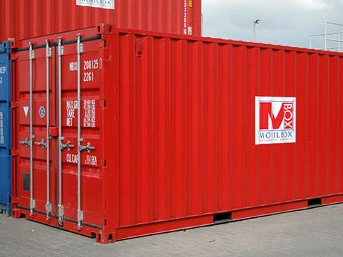 Складов контейнер - външен изглед