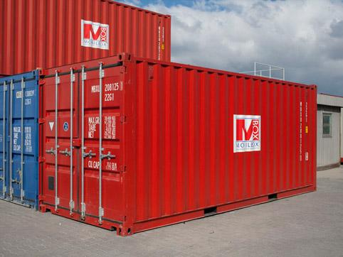 Снимка на морски (транспортен) контейнер