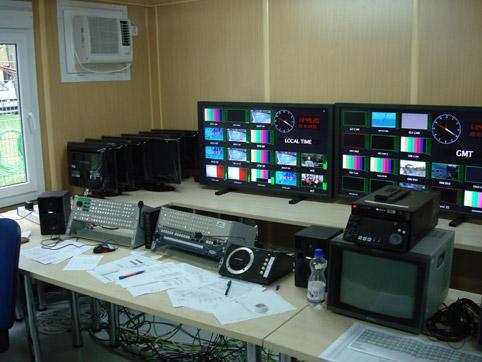 Телевизионна апаратна - интериор 2