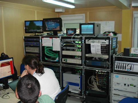 Телевизионна апаратна - интериор 3