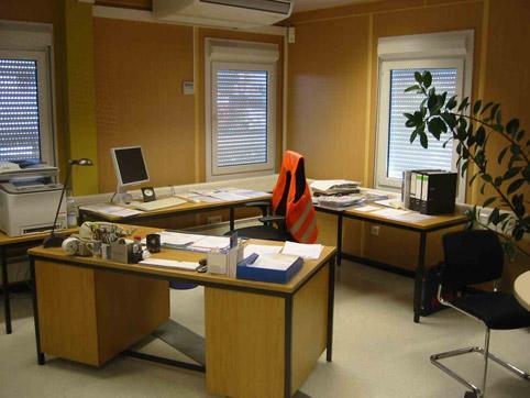 Офис на логистичен център 4