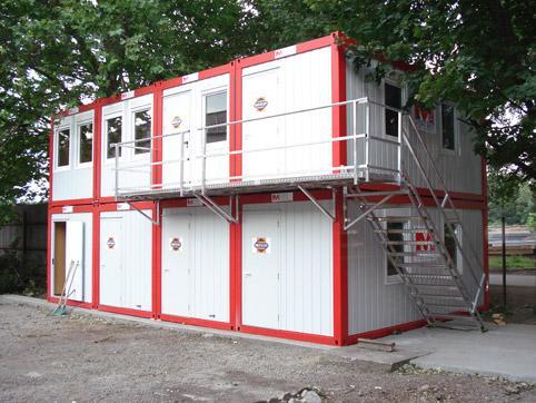 Офис на строителен обект 3