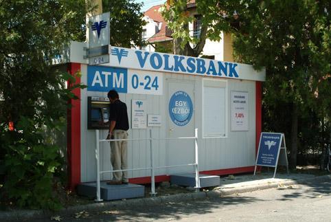 Банков клон в контейнер