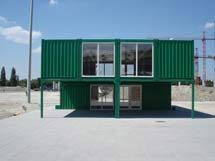 Visitor centre front view